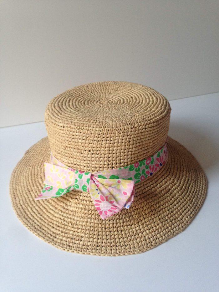 chapeau en raphia sonia rykiel occasion