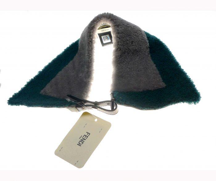 accessoires de luxe col en laine marque de luxe fendu