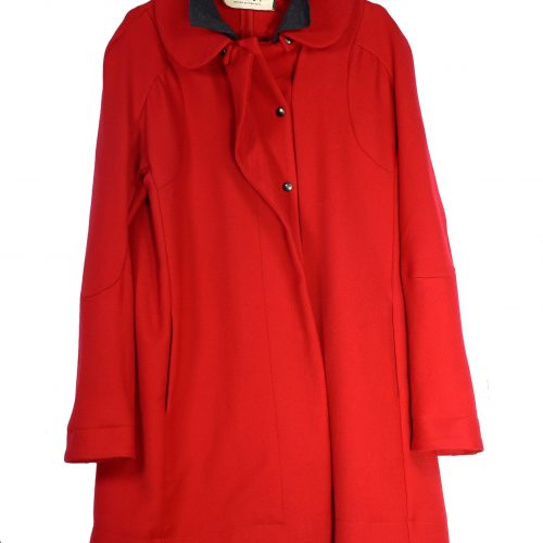 Manteau mi-long rouge – MARNI