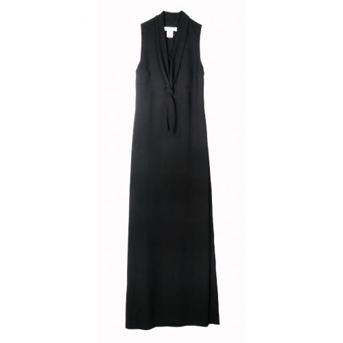 Robe longue noire – BARBARA BUI