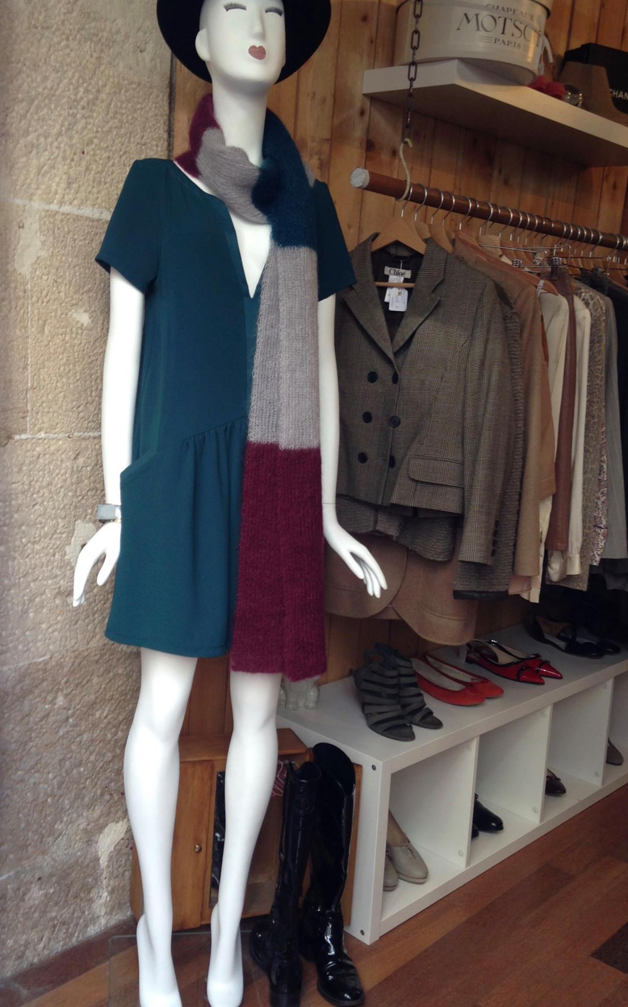 Second hand shop boutique Paris luxury brand Le Marais