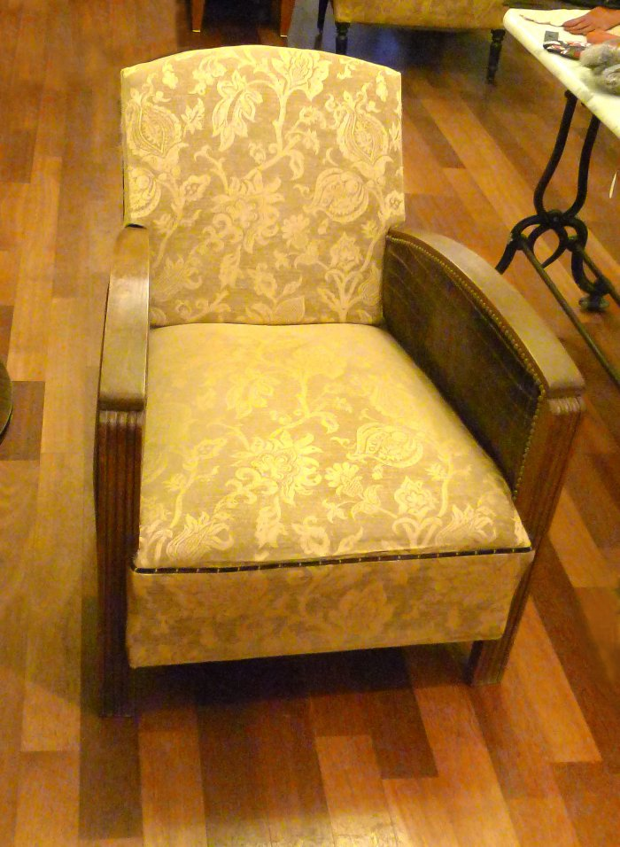 fauteuil art déco occasion
