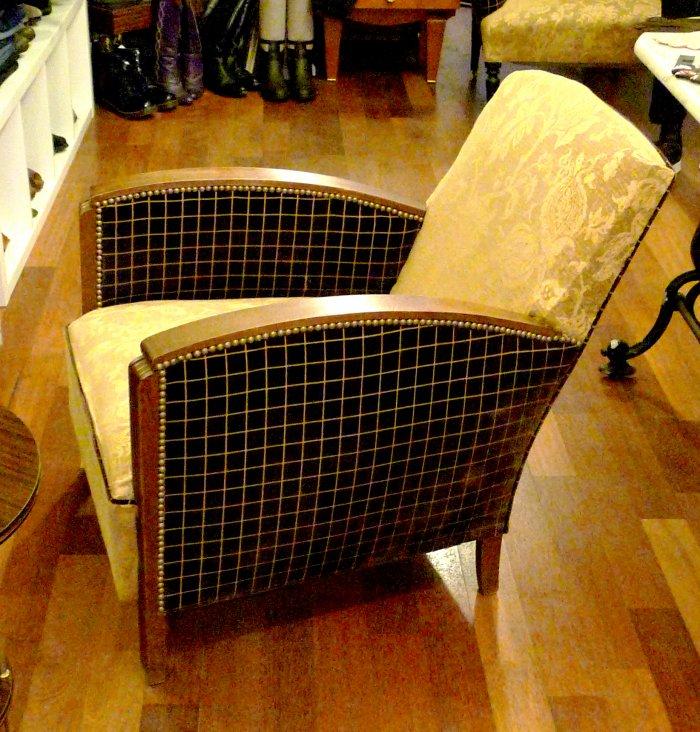 fauteuil art deco vintage brocante paris
