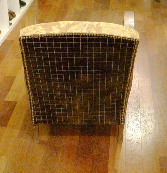 Fauteuil art deco années 30 meubles vintage