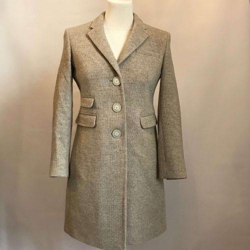 Manteau beige en laine – CURLING