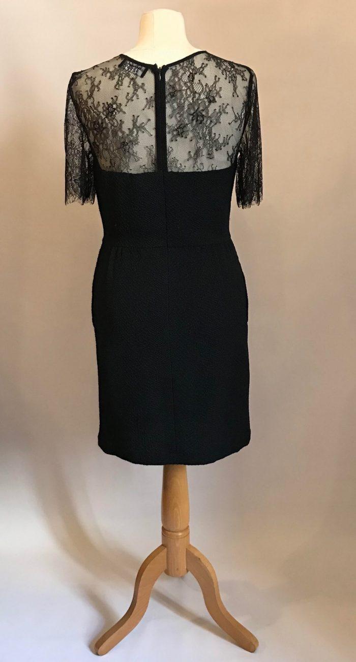 Robe noire the Koople dentelle et impression, parfait état