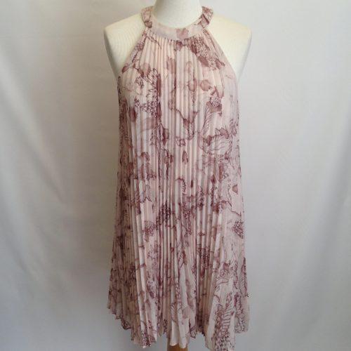 Robe en tissu plissé soleil – TED BAKER