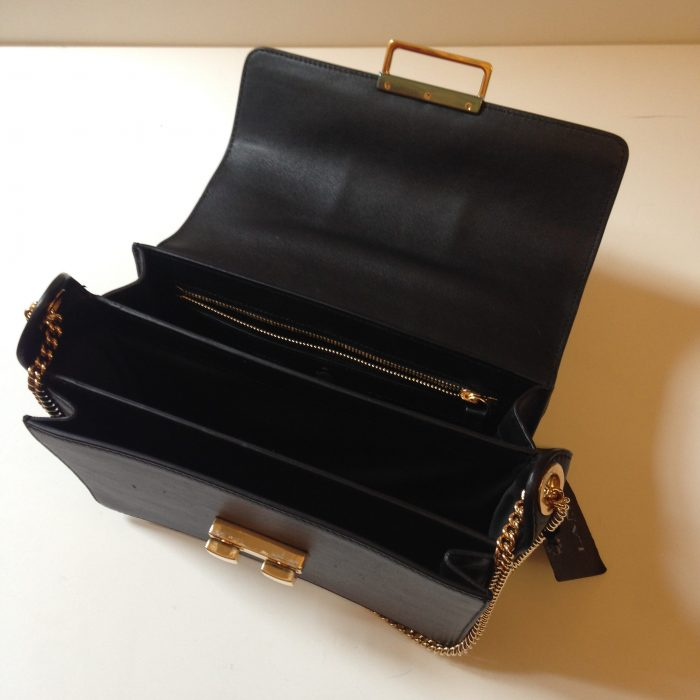 jiji Lanvin bag leather black