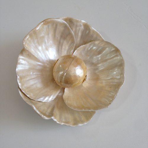 Broche fleur vintage -MONIQUE VEDIE
