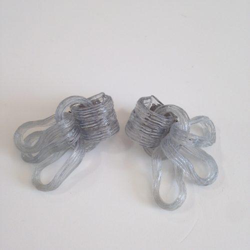 Boucles d'oreilles pendantes à clips vintage – MONIQUE VEDIE
