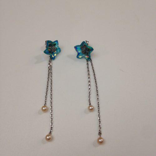 Boucles d'oreilles Fleur Etoile – BACCARAT