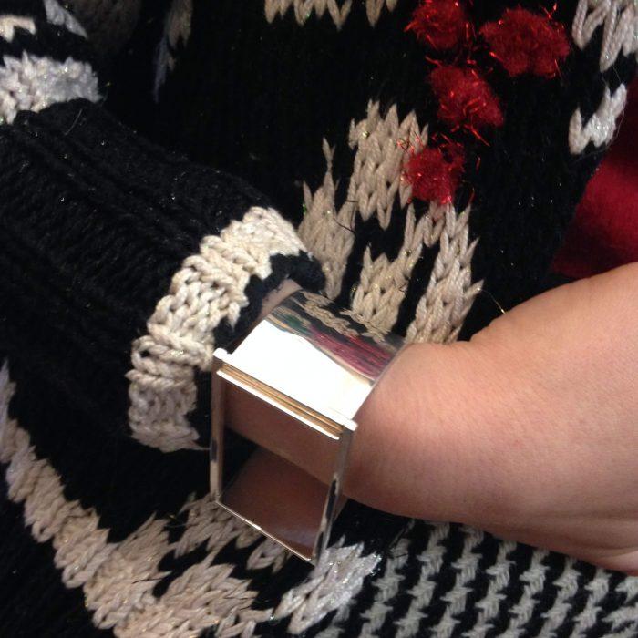bracelet manchette femme christofle occasion