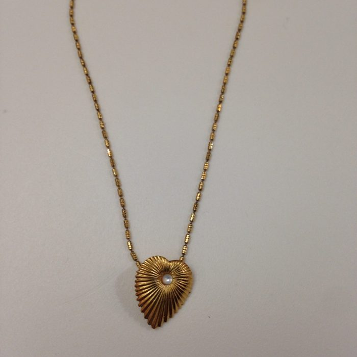 collier femme dore a l'or fin Venezia naode