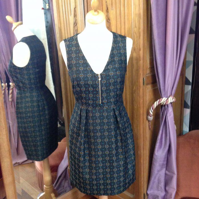 robe trois trous Tara Jarmon occasion