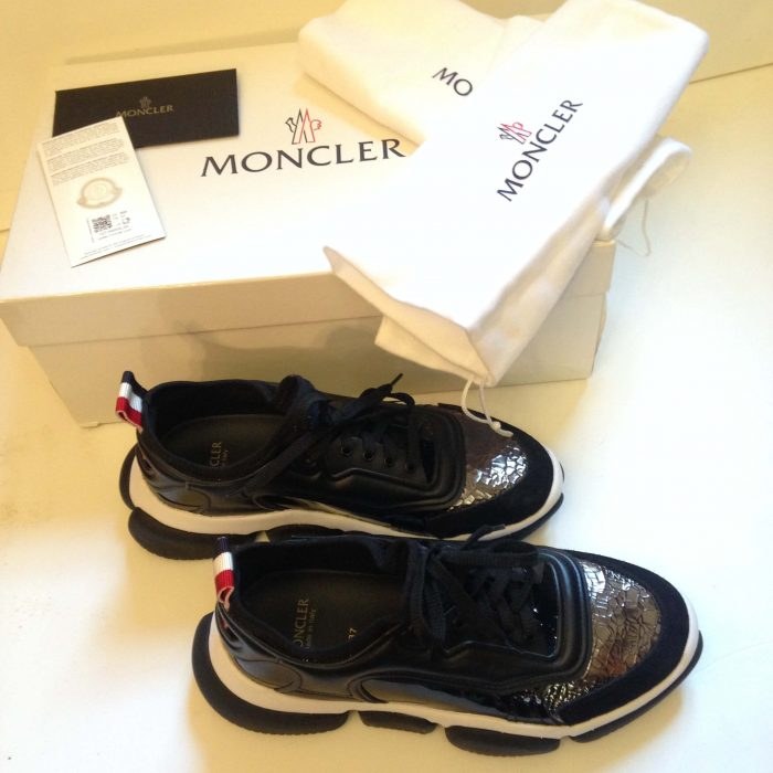 Baskets Briseis Moncler femme d'occasion comme neuf