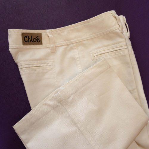 Jean flare blanc – CHLOE